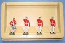 1986 BRITAINS HAND PAINTED METAL MODELS UNITED STATES MARINE DRUM & BUGLE CORPS