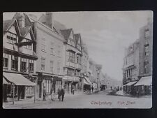 Gloucestershire TEWKSBURY High Street c1905 by Frith 29380