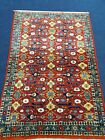 Handmade Varamin Rug With Lovely Design And Colours
