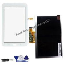 "White Samsung Galaxy Tab 3 Lite SM-T110 7"" Touch Screen Glass Digitizer + LCD"