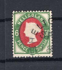 Helgoland 16 schönes Bedarfsstück gest. 40EUR (74177