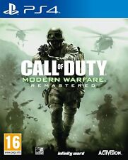 Call of Duty: Modern Warfare Remastered - COD - PS4 - Brand New