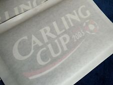 Lextra 2005 Carling Cup Final Player Issue Arm Patch Set Chelsea V Liverpool