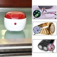 Ultrasonic Sonic Cordless Watches Jewelry Necklaces Cleaning Cleaner Machine