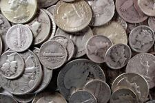 1 Standard Ounce 90% Silver Junk Coins , 1 Half Dollar Included , Free Shipping!