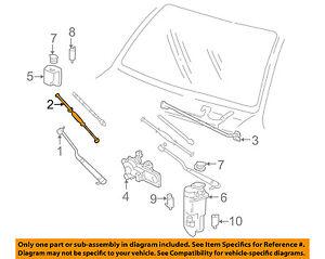 GM OEM Wiper Washer-Windshield-Blade 15184702