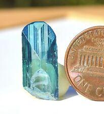 Aqua Aura Danburite Mexico L 20mm W 10mm Thickness 3-6mm