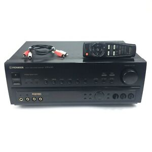 Pioneer 5.1 Dolby Receiver with Super Bass Remote Bundle Model VSX-604S