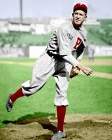 Grover Alexander Photo 8X10 - 1913 Phillies #6 HOF MLB COLORIZED