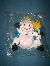 1998 Kraft Dairy Fairy Cow Mail-In Offer Plush Beanbag Toy-NRFP w/Newspaper Ad