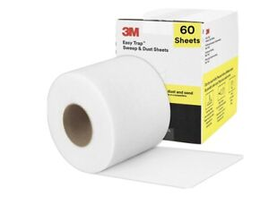 """3M Easy Trap Duster Sweep And Dust Sheets, 5"""" x 6"""" x 30', 50 Sheets, Open Box"""