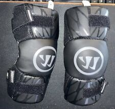 Warrior Burn Lacrosse Arm Pads Size Youth Medium, Black - BNXTAP18-BK YMD