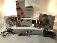 Luminess Air Airbrush White Legend System & Pink Tip No Drip Stylus 7pc Med.