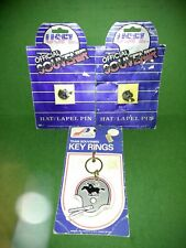 Vintage USFL Tampa Bay Bandits Football Pin New Old Stock Keychain LOT
