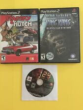 PS2 Lot: Starsky & Hutch & 24 The Game & King Kong Ships Fast!