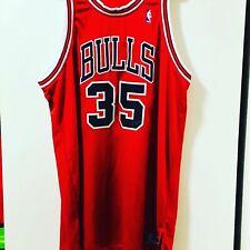 Malik Allen 2005-06 Chicago Bulls Game Worn Jersey Signed