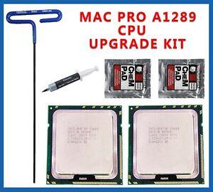 12 Core 2010 2012 Apple Mac Pro 5,1 Pair X5680 3.33GHz XEON CPU upgrade kit 5,1