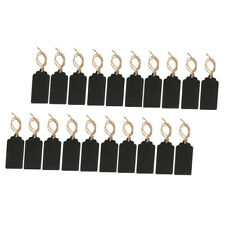 20PCS Mini Wooden Chalkboard Weddings Placecard Name Price Tag Food Signs
