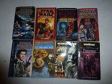 Lot of 8 Science Fiction Books,Star Wars, Lisa Smedman, Lois Lowry, Pb Sf3