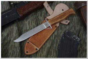 Legendary Czechoslovakia Army Paratrooper Attack Knife VZ 07 100% Handmade Work