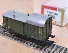 Fleischmann 5300 06 Güterzugbegleitwagen Pwg der DB / neuwertig / OVP