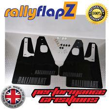 Rally style Mudflaps Mitsubishi Evo X Mud Flaps Black Kaylan PU (Anthracite)