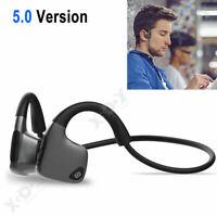 Casque Bluetooth 5.0 avec écouteur à conduction osseuse écouteurs stéréo étanche