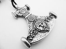 Pendant, Courage, Valour, Power Thor's Invincible Hammer Pewter