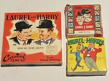LAUREL AND HARDY - Three 8mm Comedy Films in Original Home Movie Boxes!