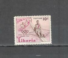 T1210 - LIBERIA 1960 - MAZZETTA DI 10 OLIMPIADI DI ROMA ** - VEDI FOTO