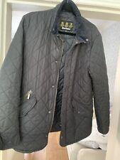 Genuine Men's Barbour Jacket In Navy Blue, Size Medium
