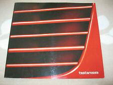 1984 Ferrari TESTAROSSA Customer Brochure Prospekt Catalogue IT/F/GB/D 10/84