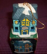 1996 Badcock Collectible Village Bakery Bell Ornament
