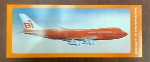 Braniff International Postcard - 747 Braniff Place