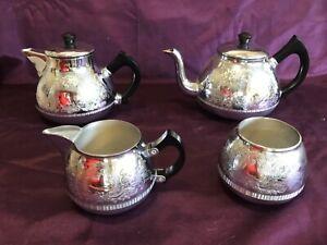 Vintage Tea Set - Swan Brand - Carlton Ware, Swan Cromalin - British Made