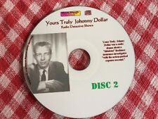 Crime Detective Mystery Johnny Dollar Radio shows -  Disc 2 - Mp3 CD
