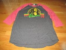Retro BOB MARLEY 1979 (XL) Baseball Long Sleeve Shirt