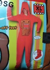 ADULT ONE PIECE PJ's Fleece DOMO Jumpsuit lounge wear Pajamas Size XL