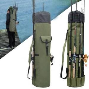 Fishing Rod Tackle Bag Large Capacity Fishing Pole Storage Bags Fishing Bag