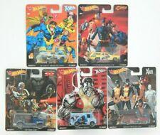 1/64 Hot Wheels X Men Set of 5 Pop Culture