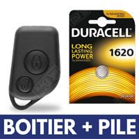 Coque 2 boutons de Télécommande Clé pour Plip Citroen Saxo Xsara Picasso + Pile
