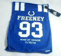 Indianapolis Colts Dwight Freeney Ring of Honor Rally Towel Lucas Oil 11/10/19