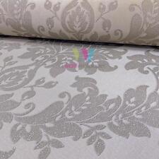Holden Decor Clara Damask Wallpaper Glitter Motif Metallic Texture Vinyl 35392