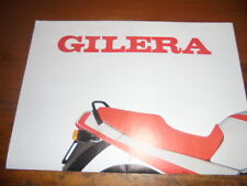 Prospekt Sales Brochure Gilera Motorräder Moped Mokick Moped RX 200 Enduro Bike