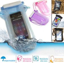 Custodia smartphone galleggiante sea impermeabile gonfiabile cover per Samsung