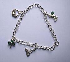 Statement Unbranded No Stone Sterling Silver Fine Bracelets