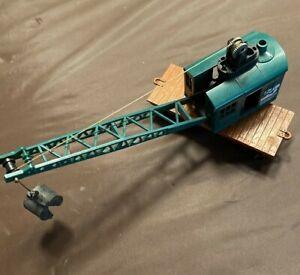 HO Scale BURLINGTON NORTHERN SANTA FE Breakdown Crane