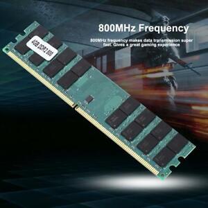 4GB DDR2 PC2-6400U 800MHz 240PIN Desktop memory AMD CPU RAM 1.8V for PC Desktop