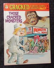 1977 CRACKED Magazine #17 VG/FN 5.0 Those Cracked Monsters