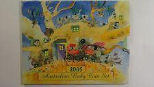 2005 Royal Australian Mint Koala Baby Uncirculated Coin Set
